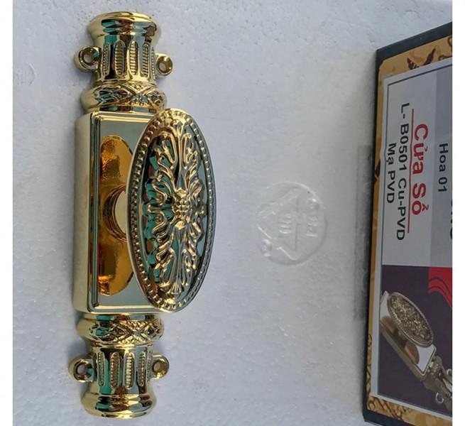 Cremone cửa đi Vietthai XL-B0501 Cu PVD